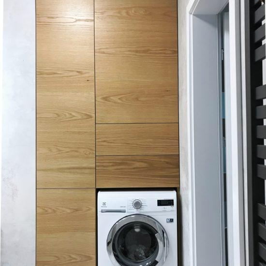 Zabudowa pralki- szafa